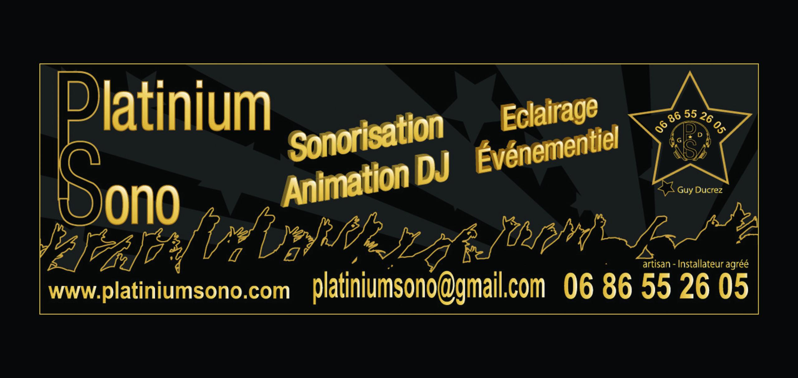 Logo Platinium Sono